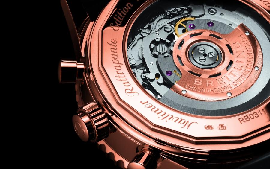 Breitling Navitamer Rattrapante B03