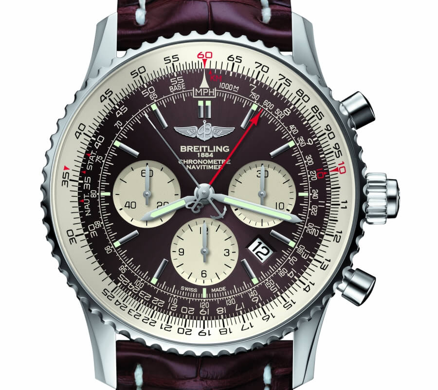 Breitling Navitamer Split Seconds Chronograph