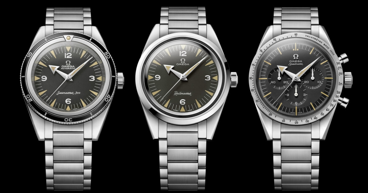The Omega 1957 Trilogy Limited Editions