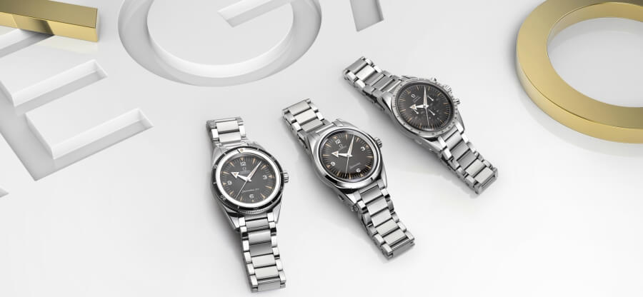omega Seamaster 300, the Railmaster and the Speedmaster