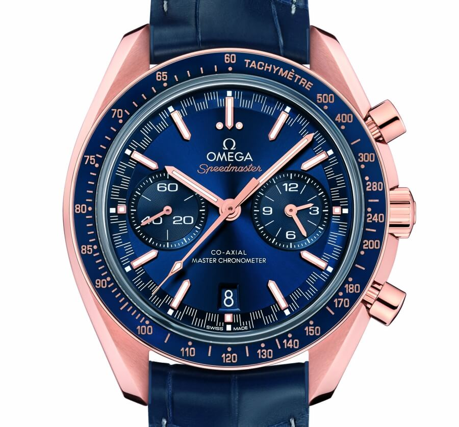 Omega Speedmaster Racing Master Chronometer Gold