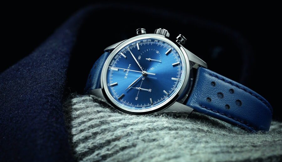 Zenith Heritage 146 Blue Dial