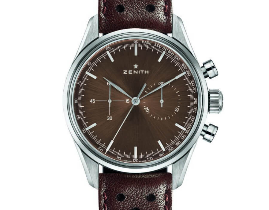 Zenith chronomaster Brown Dail