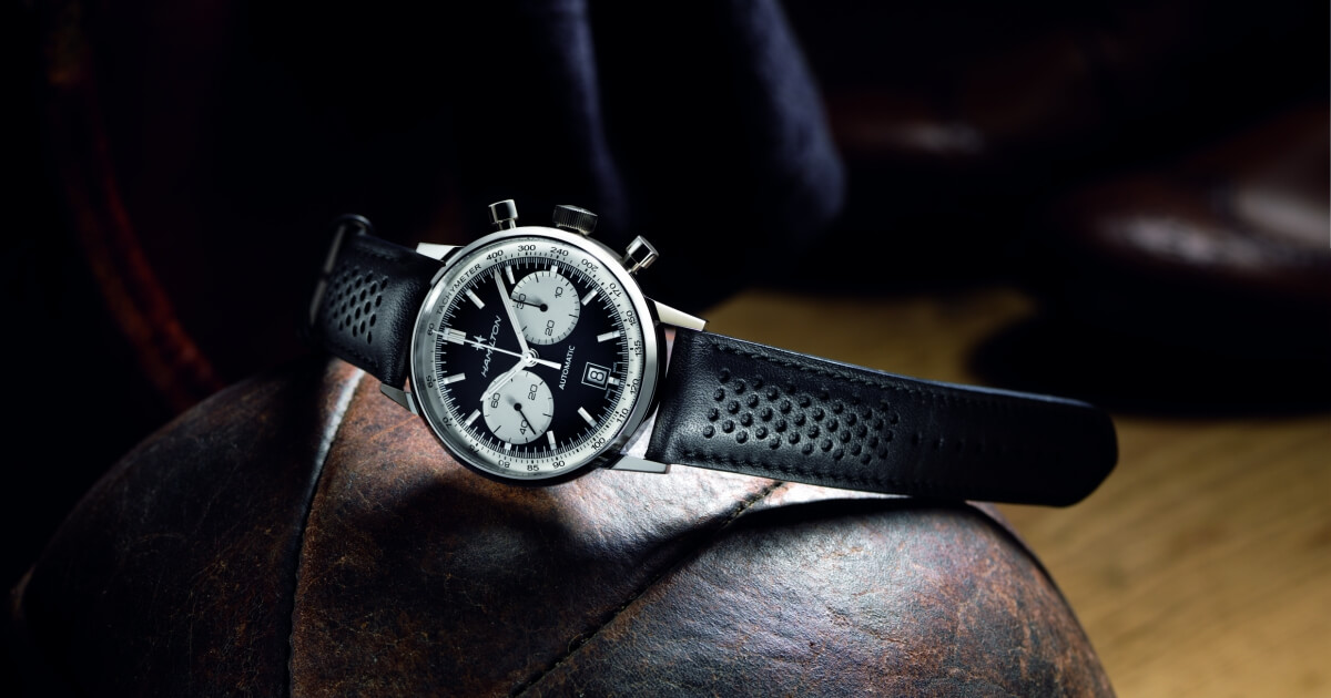 Hamilton Intra-Matic 68: a retro automatic chronograph