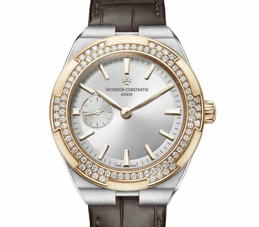 vacheron constantin overseas with diamonds
