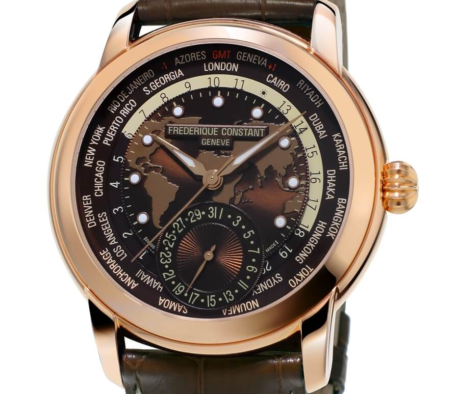 New Frederique Constant Worldtimer