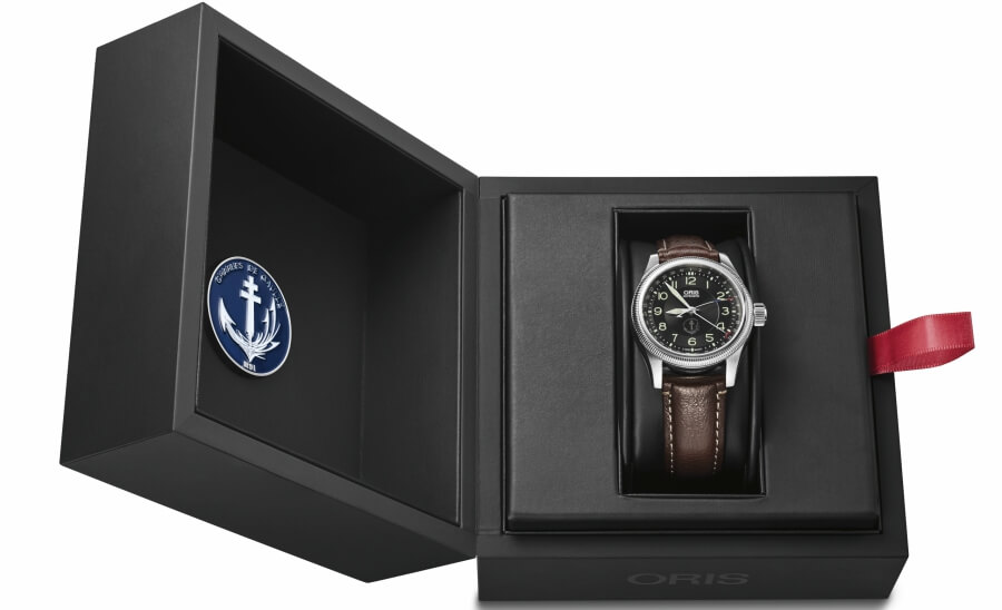 PA Charles de Gaulle Oris Limited Edition Presentation Box