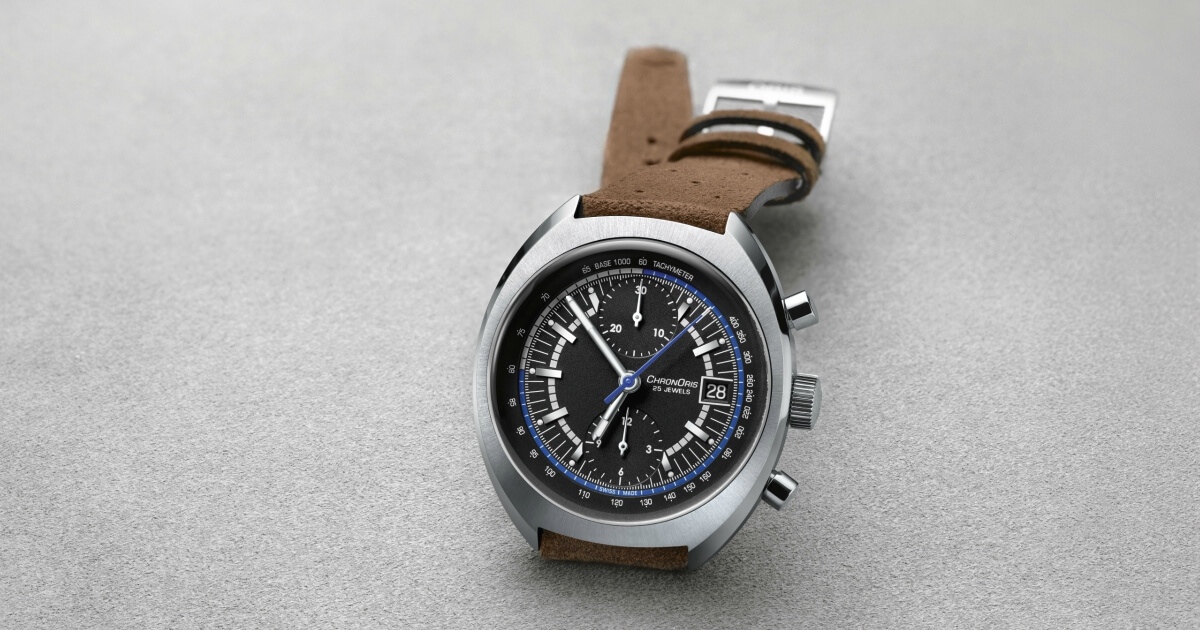 Williams 40th Anniversary Oris Limited Edition