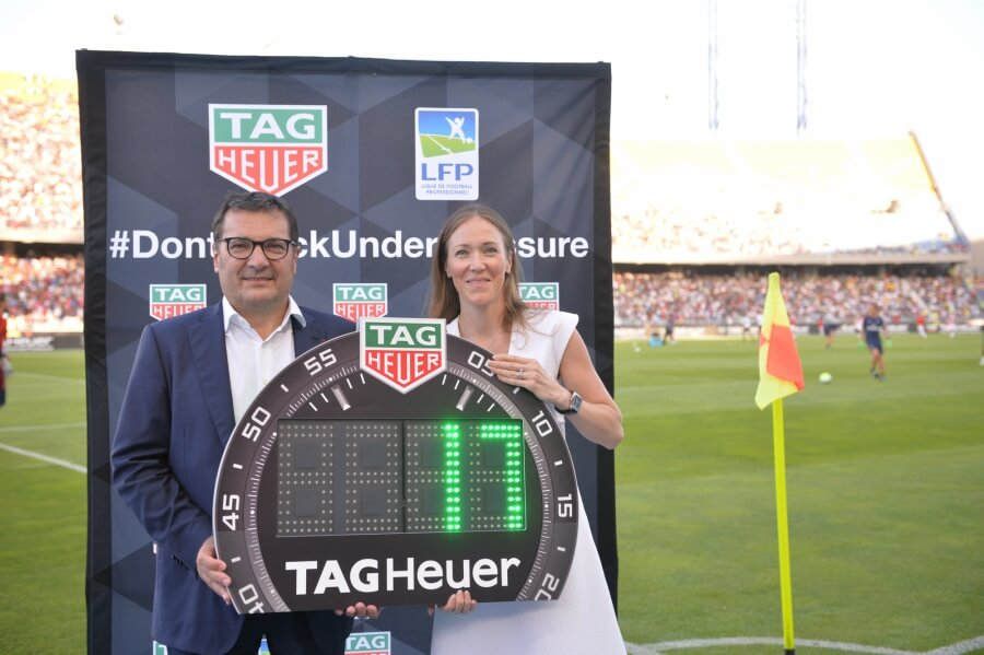Didier Quillot and Tag Heuer