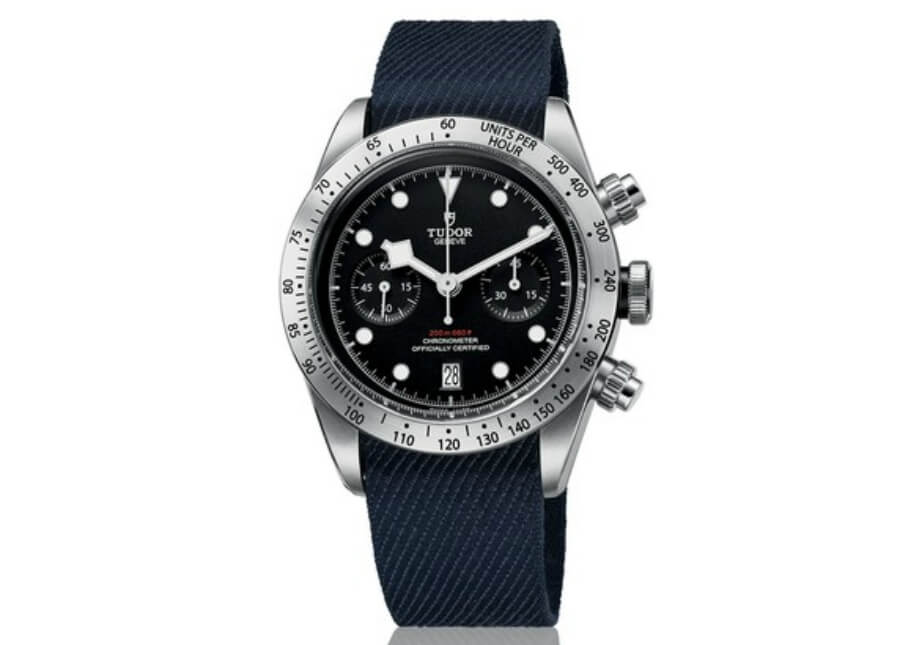 Tudor Heritage Black Bay Chrono fabric strap