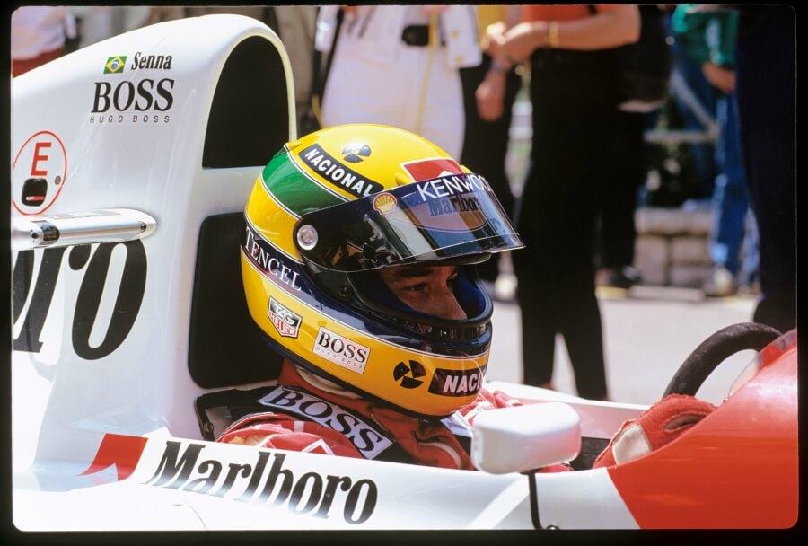 Ayrton Senna Tag Heuer