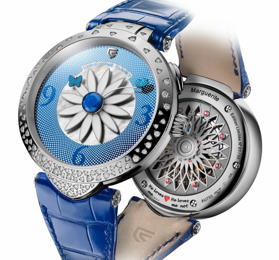 Christophe Claret Marguerite he loves me