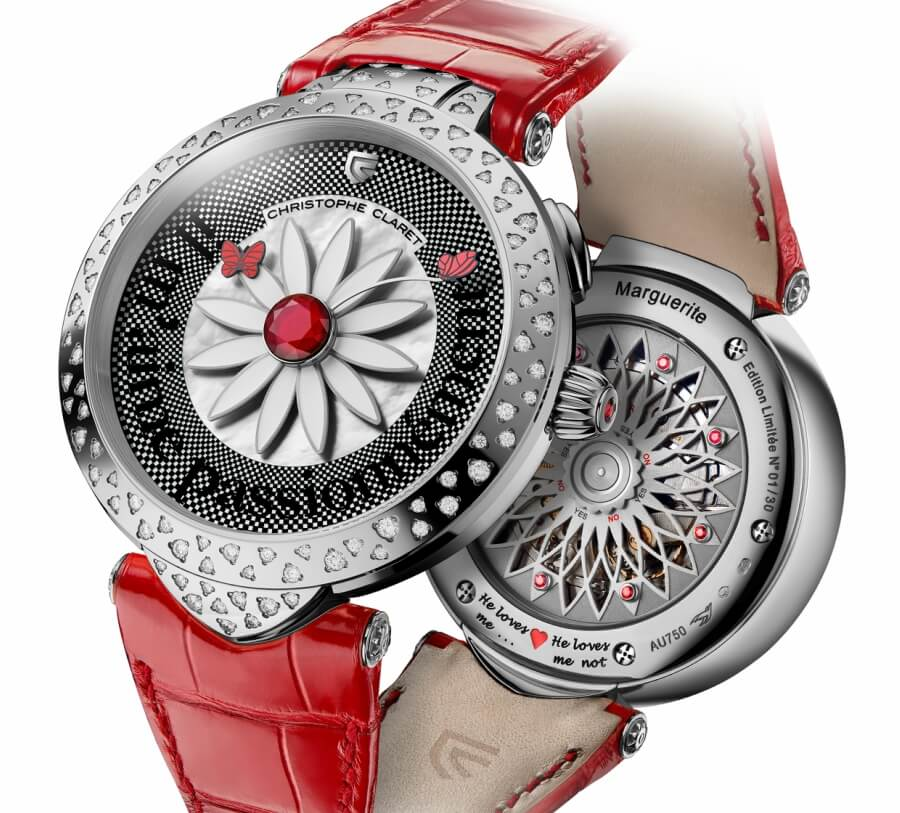 Christophe Claret Marguerite lady diamond