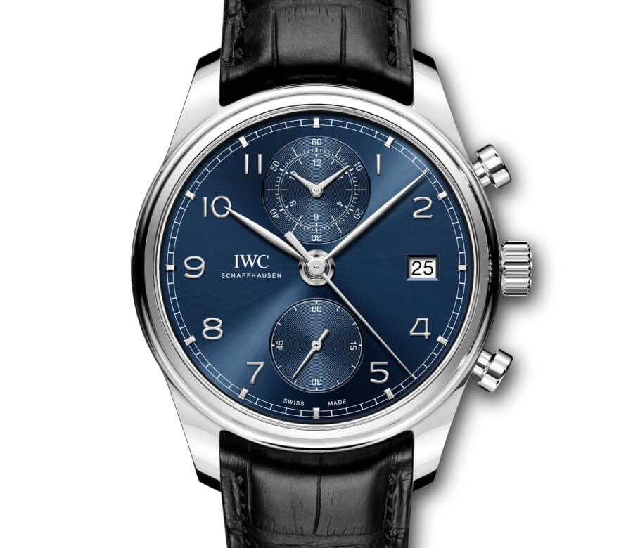 IWC Portugieser Chronograph Classic Blue dial