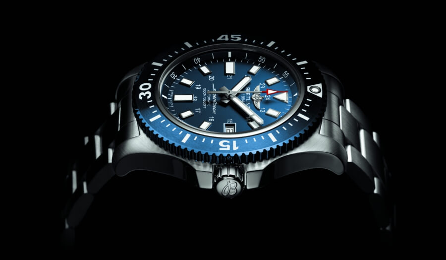 Breitling Superocean 44 Special Blue Dial