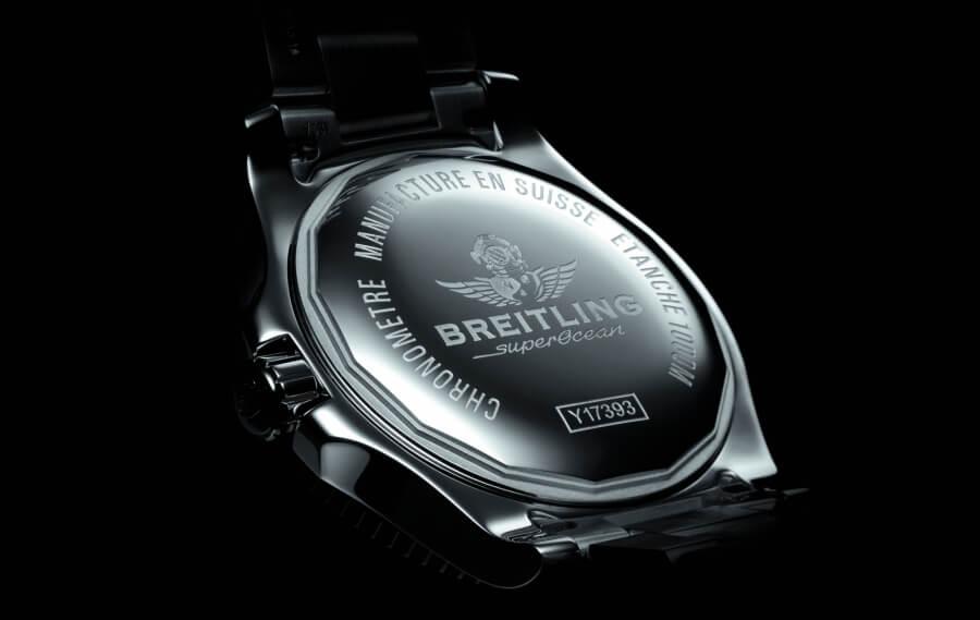 Breitling Superocean Caseback