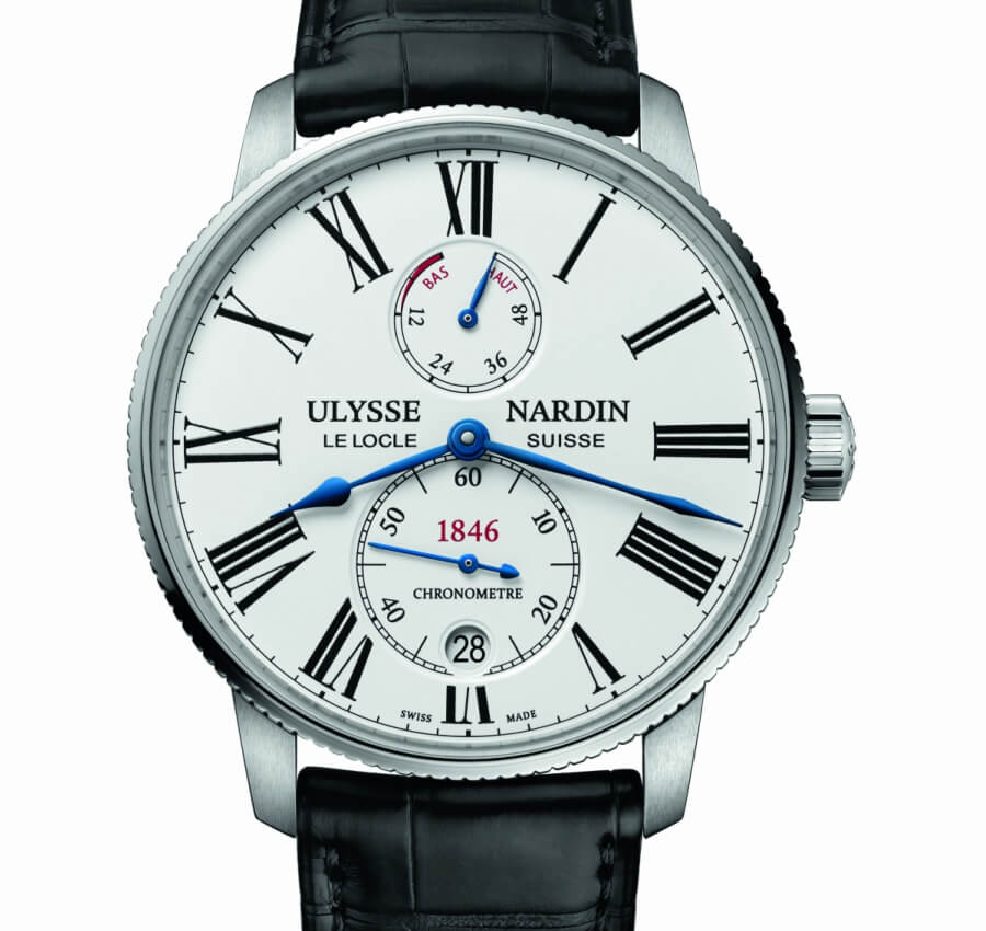 Ulysse Nardin  Marine Torpilleur white dial