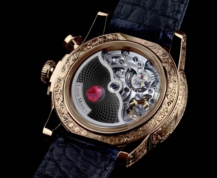 Louis Moinet Memoris Red Eclipse Movement