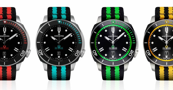 ANONIMO unveils all-colour Nautilos
