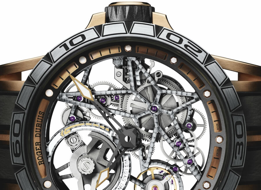 Roger Dubuis Excalibur Spider Skeleton Automatic Movement