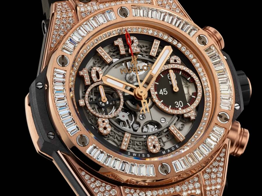 HUBLOT Big Bang Unico King Gold Jewelry