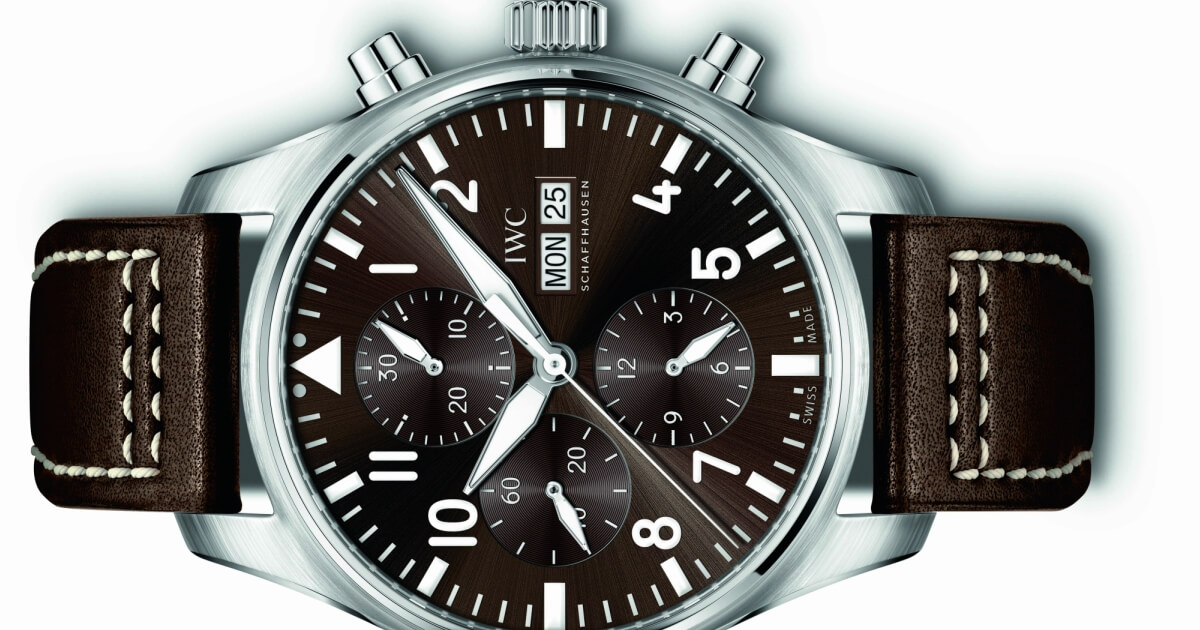 IWC Schaffhausen launches new Pilot's watches in the typical Saint Exupery design