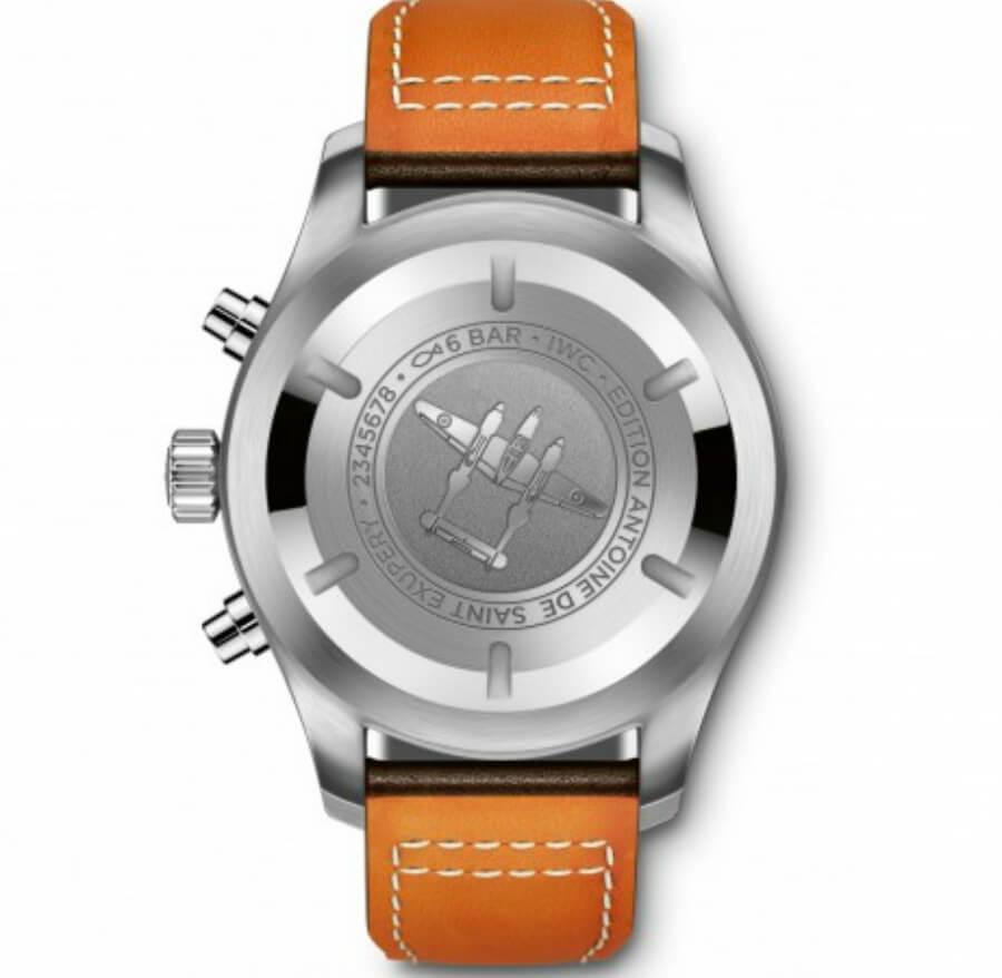 """The Pilot's Watch Chronograph Edition """"Antoine de Saint Exupery"""" (Ref. IW377713)"""