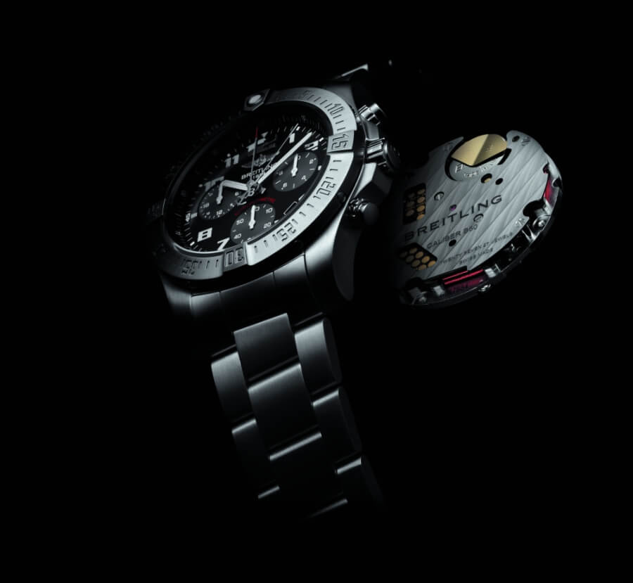 Breitling Chronospace Evo B60 Movement