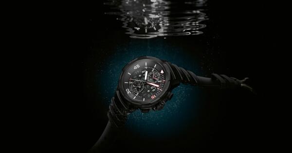 IWC Schaffhausen launches the first Ceratanium watch case