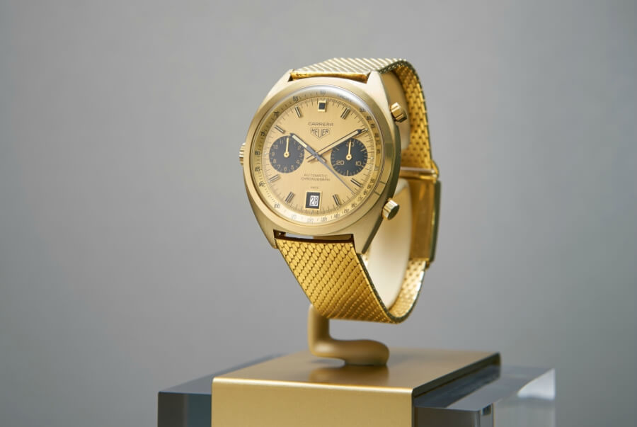 Heuer Carrera Gold