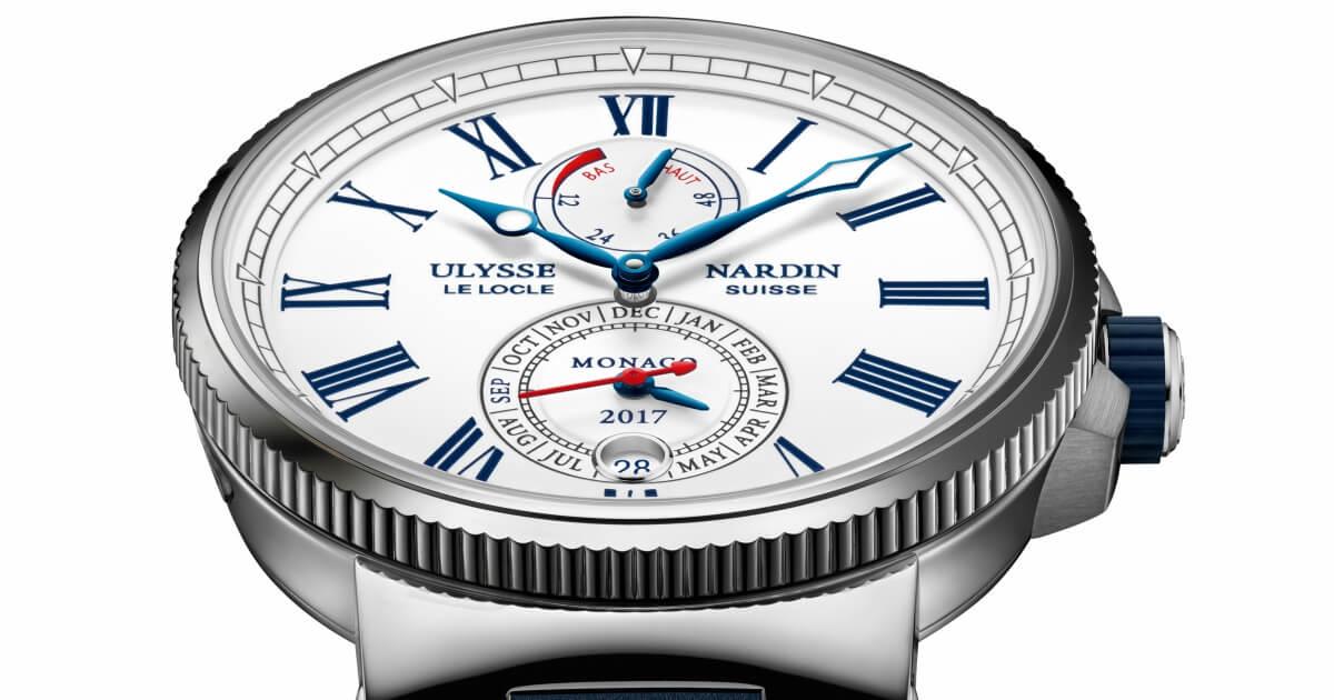 Ulysse Nardin  Marine Chronometer Annual Calendar Monaco