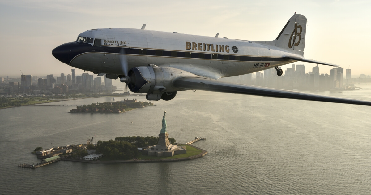 The Breitling DC-3 wraps up its world tour
