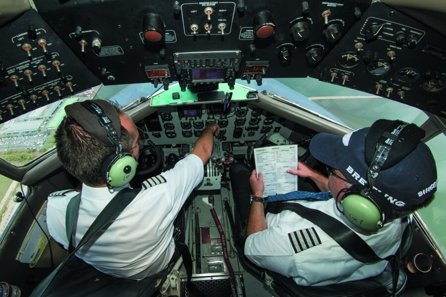 Breitling DC-3 Cockpit