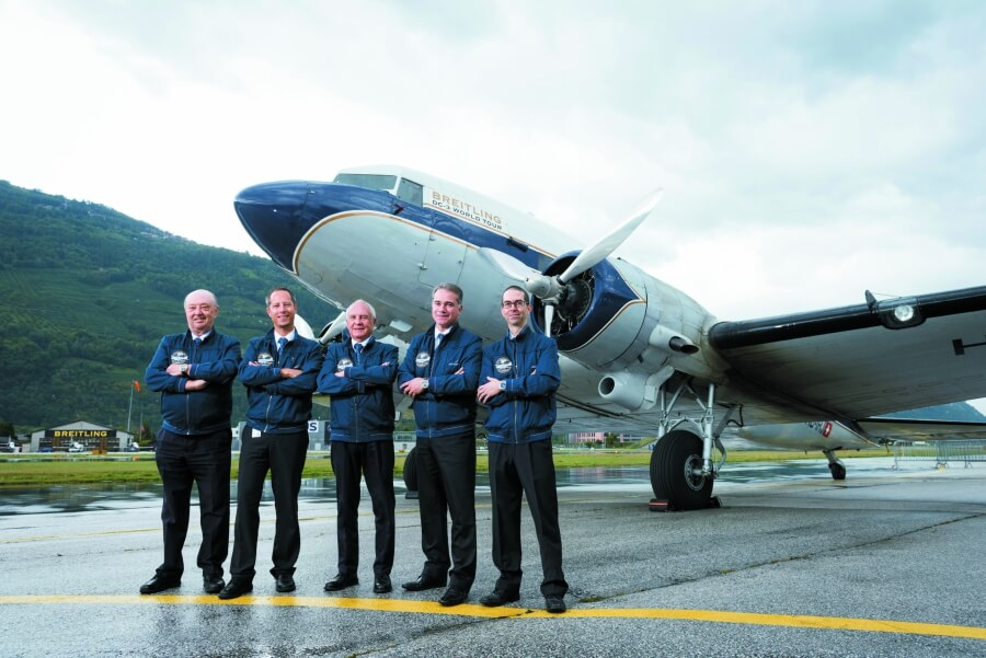 Breitling DC-3 World Tour Sion