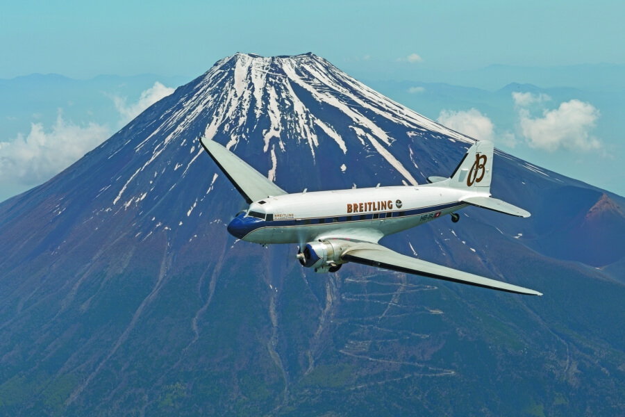 Breitling Mount Fuji Japan