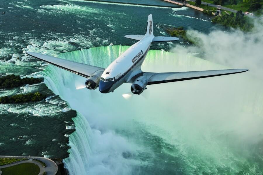 Breitling Niagara falls Canada