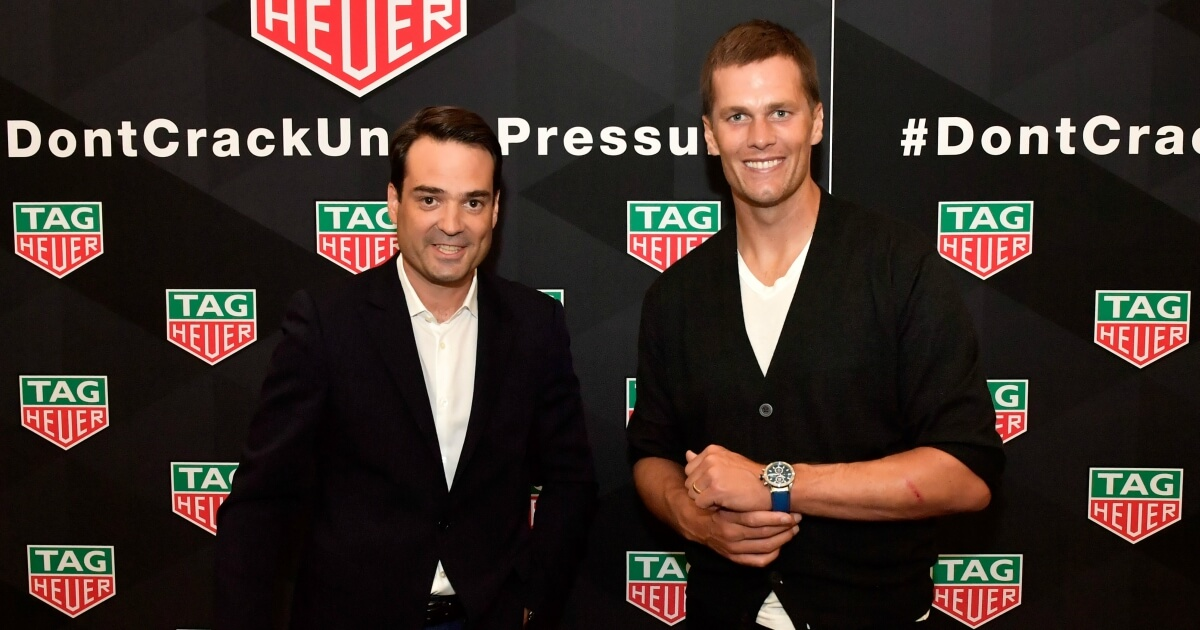 TAG Heuer Brand Ambassador Tom Brady Releases Heuer 01 Special Edition Watch