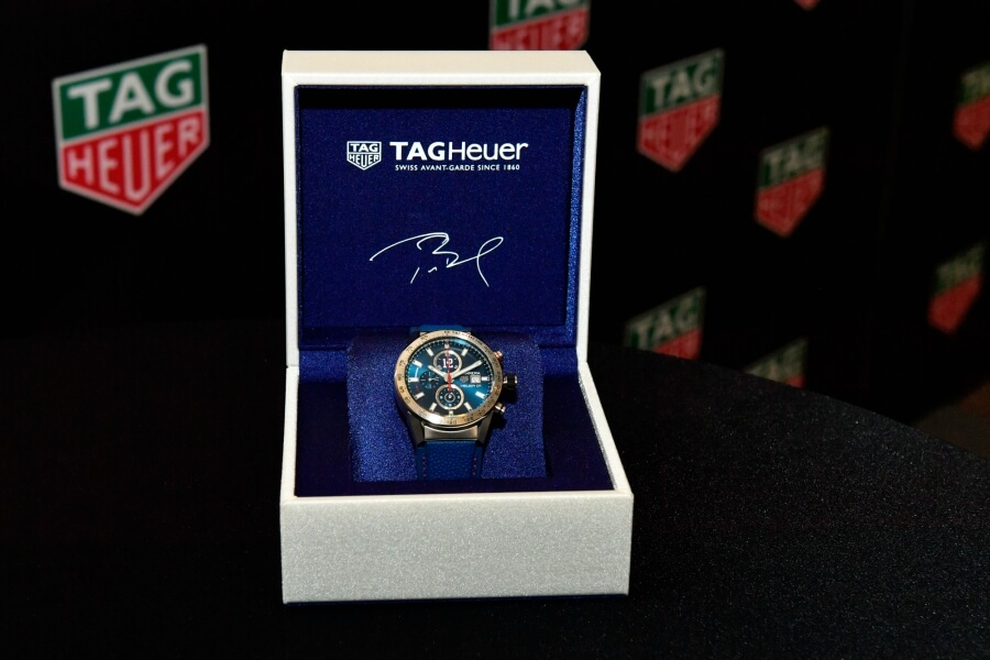 Heuer 01 Special Edition Watch