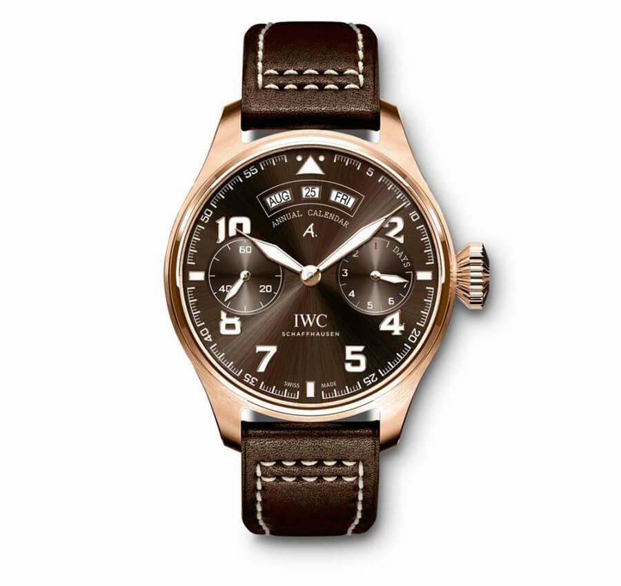 iwc pilot bronze watch