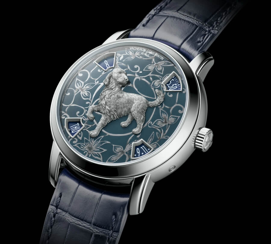 Metiers d'Art The legend of the Chinese zodiac Year of the dog