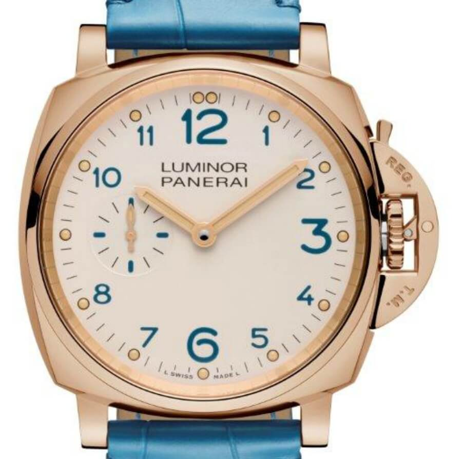Panerai luminor Gold