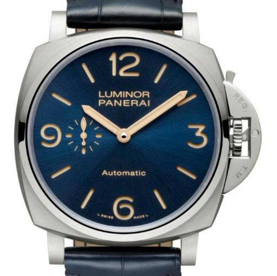 Panerai Luminor Blue