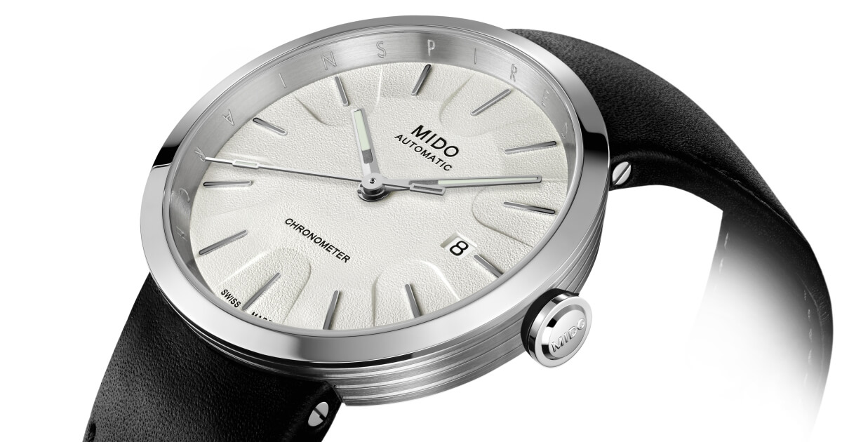 The New Mido Inspired By Architecture Limited Edition