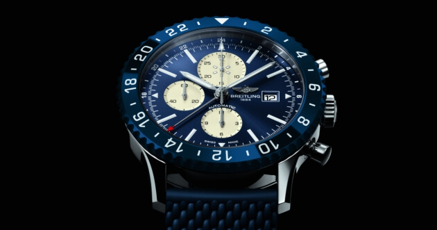 The New Breitling  Chronoliner