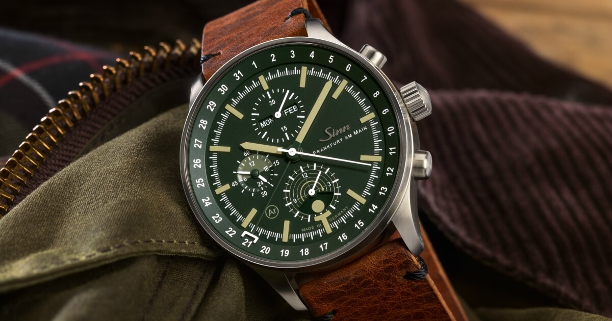 Sinn Hunting Watch 3006; The chronograph with moonlight display