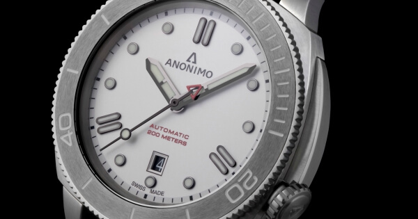 The New Anonimo Nautilo Bianco