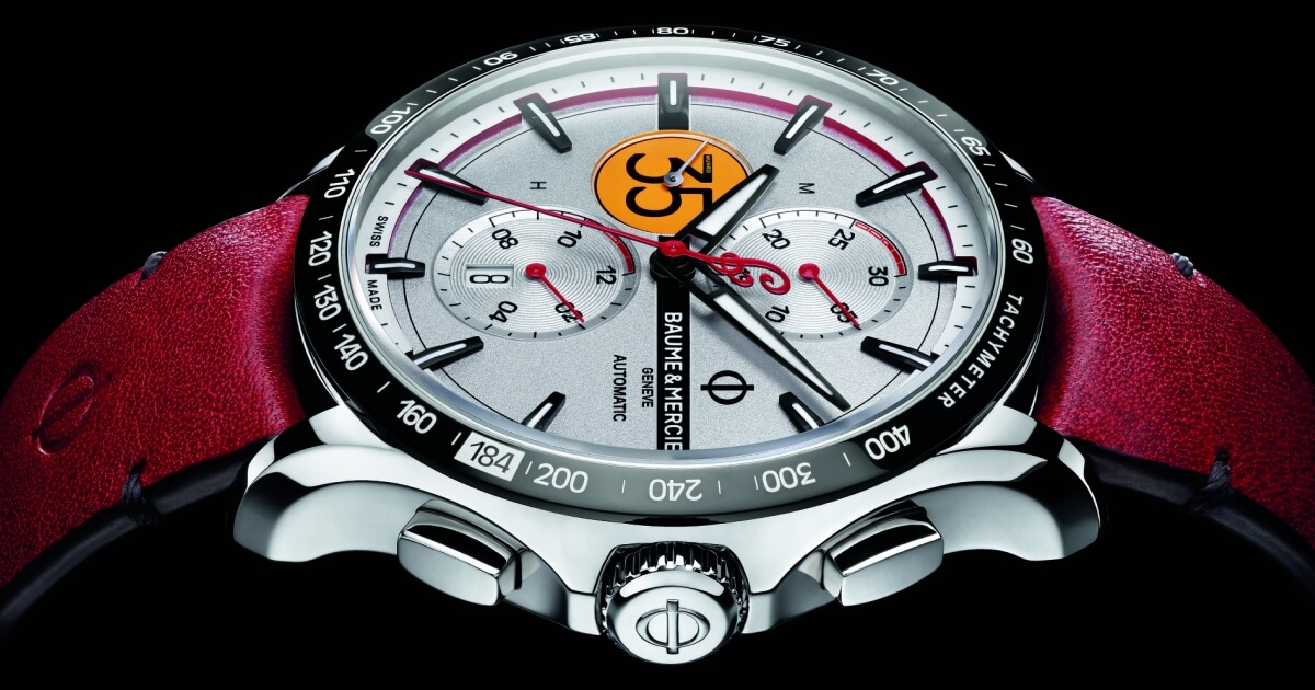 The Baume & Mercier Clifton Club, Burt Munro Tribute Limited Edition