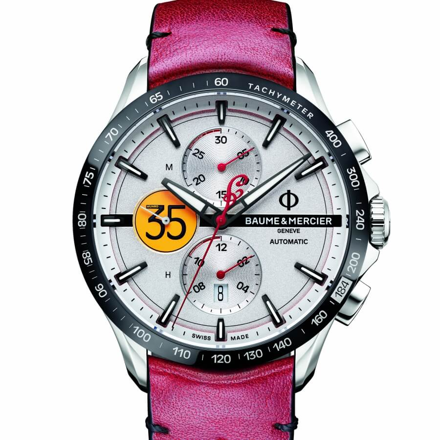 Baume & Mercier Clifton Club, Burt Munro Tribute Limited Edition
