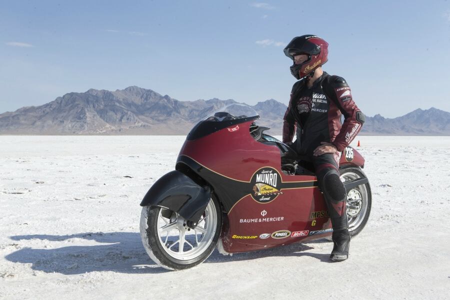 Baume Mercier and Indian Motorcycle