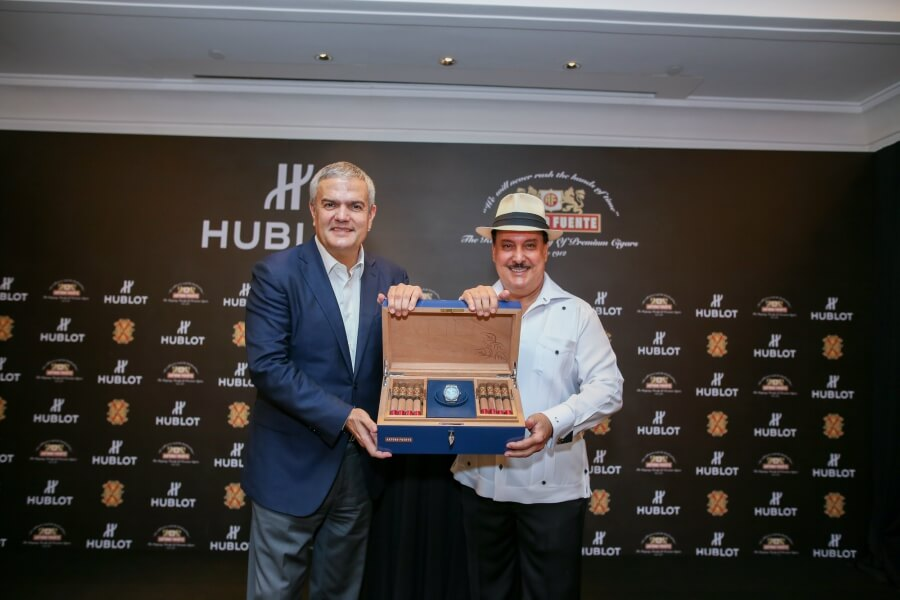 Arturo Fuente and Hublot